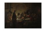 La última cena|Last Supper Pósters por Gerbrand Van Den Eeckhout