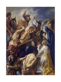 Carrying of the Cross Posters av Jacob Jordaens