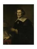 Portrait of Pieter Corneliszoon Hooft, Bailiff of Muiden, Historian and Poet Posters by Joachim Von Sandrart