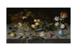 Still Life with Fruit and Flowers Posters by Balthasar van der Ast