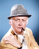 Art Carney Posed in Coat With Cigarette Photo by  Movie Star News