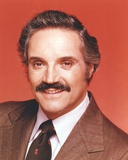 Hal Linden wearing Formal Outfit with Necktie in Red Background Photo by  Movie Star News