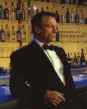 Daniel Craig Leaning in Black Tuxedo Photo by  Movie Star News