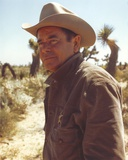 Glenn Ford in Cowboy Outfit Portrait Photo by  Movie Star News