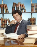 Barry Newman in Formal Outfit With Books Photo by  Movie Star News