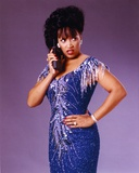 Jackee wearing a Beaded Dress, Talking on Telephone Photo by  Movie Star News