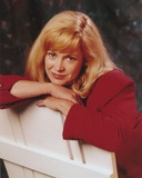 Catherine Hicks posed on Chair Photo by  Movie Star News