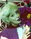 Carol Channing Portrait in Violet Shirt Photo by  Movie Star News