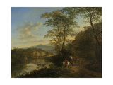 Italian Landscape with the Ponte Molle Posters by Jan Both