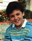 Fred Savage in Stripe Polo Shirt Portrait Photo by  Movie Star News