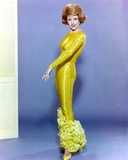 Cyd Charisse Posed in Yellow Gown Photo by  Movie Star News