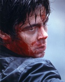 Benicio Del Toro Bleeding Close Up Portrait Photo by  Movie Star News