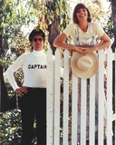 Captain & Tennille in Red Background Red Background Photo by  Movie Star News