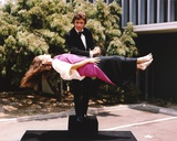 Bill Bixby Performing Lady Float Magic Trick Photo by  Movie Star News