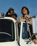 Greg Evigan Leaning on Car with Monket Candid Photo Photo by  Movie Star News