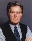 Martin Sheen in Black Vest and White Shirt Portrait Photo by  Movie Star News