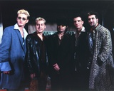N'sync Group Picture in Coat Photo by  Movie Star News