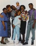 Family Matters Posed with Cast Members Photo by  Movie Star News