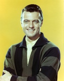 Robert Goulet Posed in Yellow Polo Photo by  Movie Star News