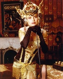 Maryam D'abo Posed in Queen Outfit Photo by  Movie Star News
