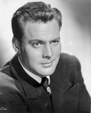 John Agar Posed in Black Photo by  Movie Star News