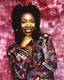 Brandy Posed in Floral Printed Dress Portrait Photo by  Movie Star News
