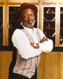 Garrett Morris Posed in Blazer with Hat Photo by  Movie Star News