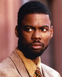 Chris Rock in Brown Tuxedo Close Up Portrait Photo by  Movie Star News