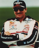 Dale Earnhardt smiling in Car Racing Outfit Fotografía por  Movie Star News