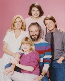 Family Ties Group Portrait of Cast Photo by  Movie Star News