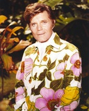 Jack Lord in Floral Suit Photo by  Movie Star News
