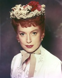 Deborah Kerr Close Up Portrait with Floral Headband Photo by  Movie Star News