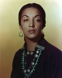 Katy Jurado Close Up Portrait Photo by  Movie Star News