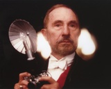 Nigel Hawthorne Posed with a Light Bulb Photo by  Movie Star News