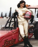 Bonnie Bedelia Posed in Car Racing Outfit Carrying Her Helmet Photo by  Movie Star News