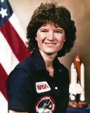 Sally Ride Close Up Portrait Photo by  Movie Star News