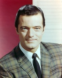 Robert Goulet Posed in Suit and Tie Photo by  Movie Star News