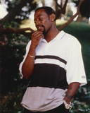 Omar Epps standing wearing Casual Polo Shirt Photo by  Movie Star News