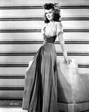 Barbara Hale on a Dress Leaning Portrait Photo by  Movie Star News