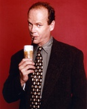 Kelsey Grammer Posed in a Suit and Tie with Red Background Photo by  Movie Star News