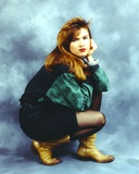 Heather Langenkamp wearing a Yellow Boots Photo by  Movie Star News