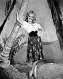 Betty Grable Posed in Printed Skirt Photo by  Movie Star News