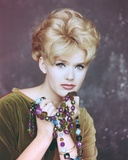 Connie Stevens Posed in Brown Blouse Portrait Photo by  Movie Star News