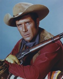 Robert Fuller in Cowboy Outfit with Rifle Portrait Photo by  Movie Star News