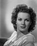 Maureen O'Hara Close Up Portrait wearing Printed Blouse Photo by E Bachrach