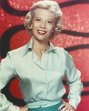 Dinah Shore in Blue Dress Portrait Photo by  Movie Star News