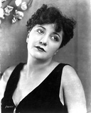 Helen Morgan on a Sleeveless Top Leaning Photo by  Movie Star News