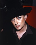 Boy George on a Close Up Portrait Photo by  Movie Star News