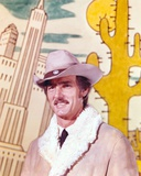Dennis Weaver Portrait in Brown Jacket with Brown Hat Photo by  Movie Star News
