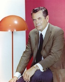 Glenn Ford Posed in Formal Suit Portrait Photo by  Movie Star News